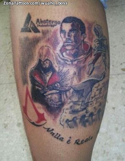 assassins tattoo in montgomery al tatuaje de videojuegos assassin s creed