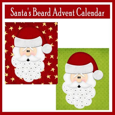 printable advent calendar santa santa s beard advent calendar printables 4 mom