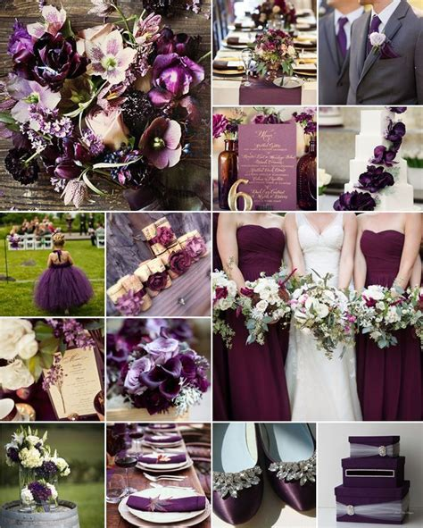 25  great ideas about Eggplant wedding colors on Pinterest