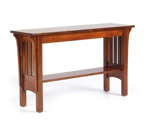 1800 mission sofa table ohio hardwood furniture