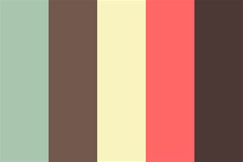 colors palette vintage doo color palette