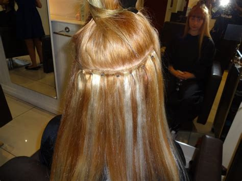 i and k hair extensions weft with micro in progress kk hair hair extensions