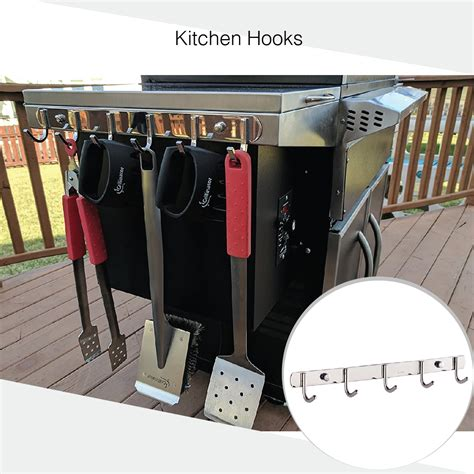 Grill Utensil Rack by Bbq Tool Rack And Accessories Hanger Ultimate Outdoor