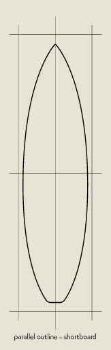 a surfboard template surfboard pattern use the printable outline for crafts