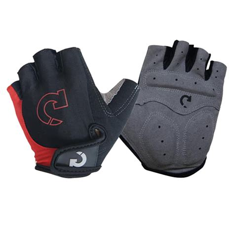 Gloves O Halffinger bicycle cycling half gel silicone finger gloves half finger gloves fingerless ebay
