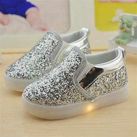 New 26 30 Kid Shoes Led Sparkly Sepatu Flat Anak Sepatu Led baby boy led light shoes toddler anti slip sports boots sneakers children