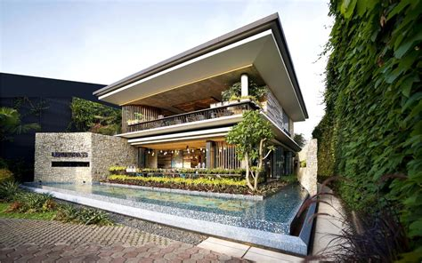 modern house architecture design modern tropical house lemongrass restaurant has a modern tropical architecture