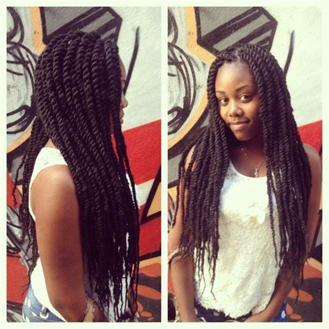 how long to marley twist last marley twists hairstyles for long hair pinterest i