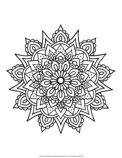 mandala tattoo coloring pages mandala pesquisa google hamsa pinterest mandala