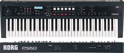 Keyboard Korg Ps60 cleverjoe korg ps60 synthesizer review page