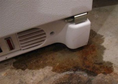 how to fix a refrigerator leak
