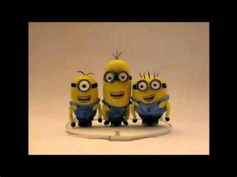 imagenes de minions que digan feliz cumpleaños feliz cumplea 241 os te desean los minions youtube