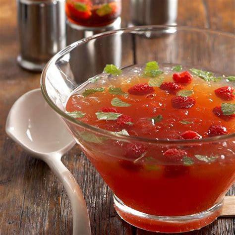 raspberry mojito punch recipe