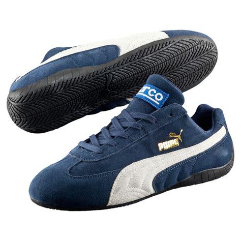 lyst puma speed cat sparco shoes  blue  men