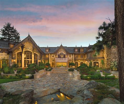 expensive land 25 million price cut for tranquility lake tahoe mansion