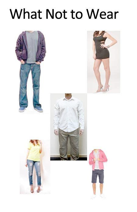 What Not To Wear by What Not To Wear To Work Www Pixshark Images