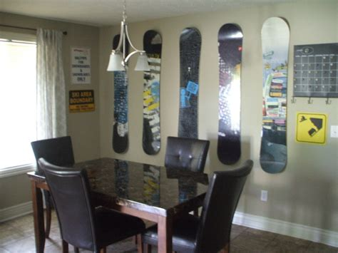 Snowboard Decor by 1000 Images About Snow Boards On General