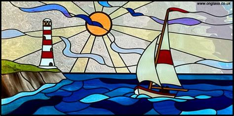 Sailboat Windows Designs Creative Torbay Directory On Glass Co Uk Stained Glass Bevelled Windows Doors Beveled