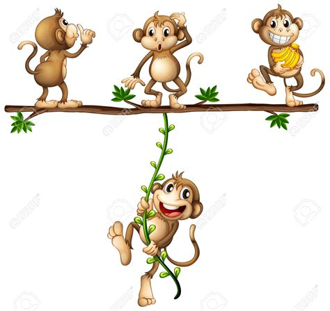 monkey swinging on a vine swinging bed