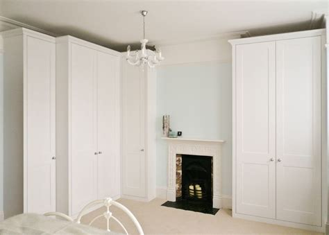 Built In Corner Wardrobes by Traditional Style Wardrobe Built To Maximise Alcove Space