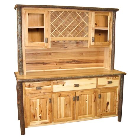 wine rack buffet hickory buffet hutch with wine rack 75 inch