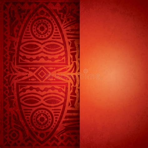 africa vector traditional background pattern african background design stock vector image of africa
