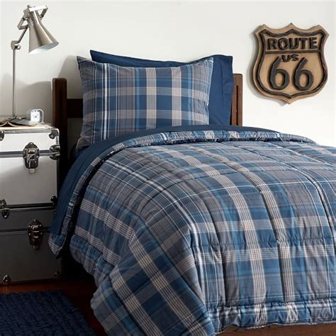 plaid bedding set heritage plaid deluxe value comforter set pbteen