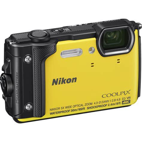 nikon rugged nikon coolpix w300 rugged waterproof digital yellow at hunts photo