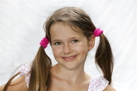 bailey 7 year old female 7 year old girl stock photo image of years white head