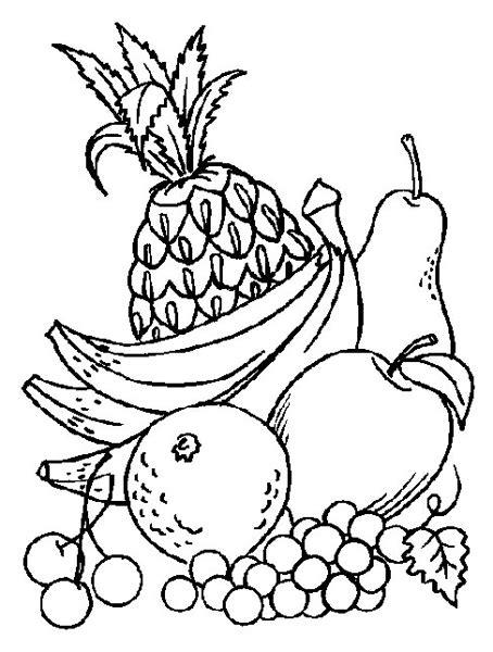 frutas para colorear en ingles imagui frutas para colorear en ingles imagui