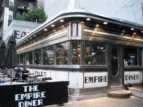 dinner nyc the empire diner in new york city places i ve