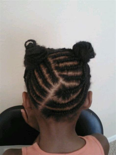 hair pony tailforafrican hair cornrows ponytails for girls natural styles pinterest