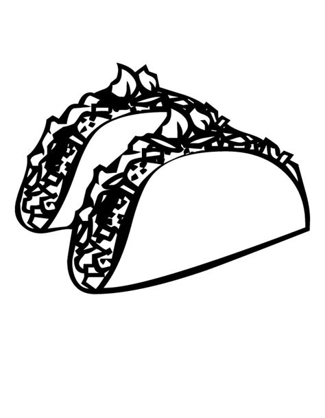 coloring pages mexican food free coloring pages of mexican food