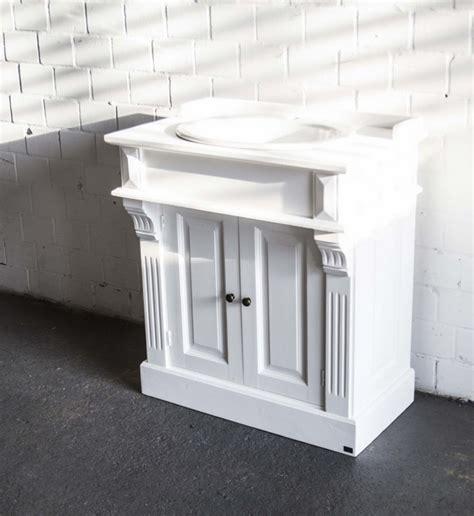 waschtisch landhausstil waschtisch wei 223 im landhausstil badm 246 bel klassisch