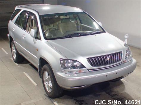 toyota harrier 2000 2000 toyota harrier silver for sale stock no 44621