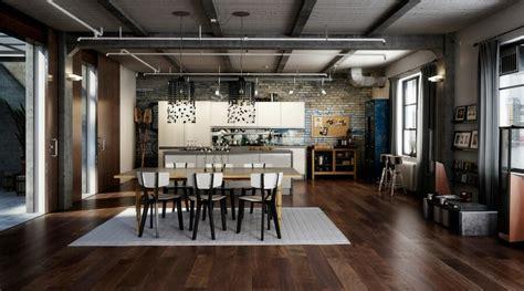 modern industrial style interior design ideas