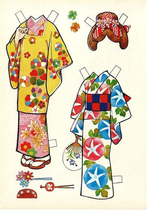 Origami Paper Doll - 248 best ideas about origami paper dolls on