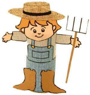 Farmer Craft Farmer Template Preschool