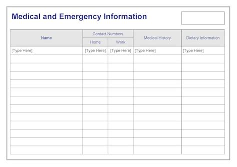 emergency information template driverlayer search engine