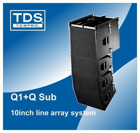 Speaker Q1 dual 10inch d b outdoor line array speaker q1 q sub for pro audio speaker stand