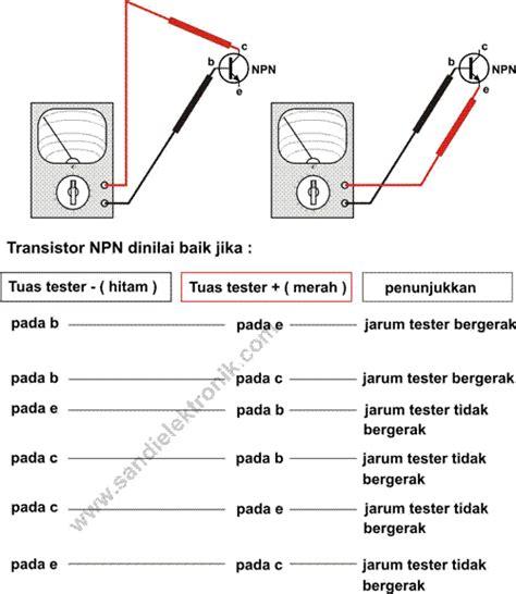 c945 transistor test pengetesan transistor 2 npn sandi elektronik