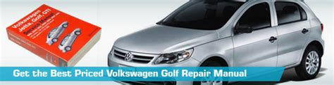 Vw Volkswagen Golf Repair Manual Service Manual