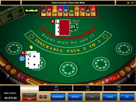 play super fun  blackjack  microgaming  blackjack games