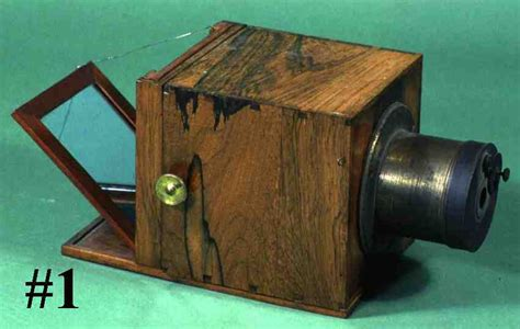 first camera ever made to have your photo taken with the first ever camera you