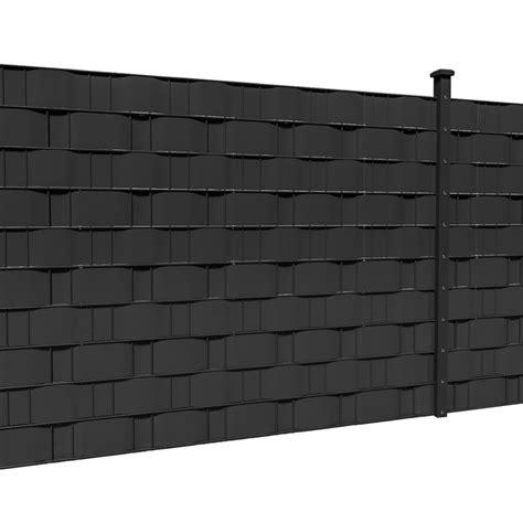 doppelstabmatten folie 35m 65m balkon sichtschutz pvc windschutz zaun folie