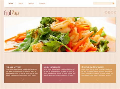 Top 7 Best Food Free Bootstrap Templates In 2016 Freemium Download Best Food Templates