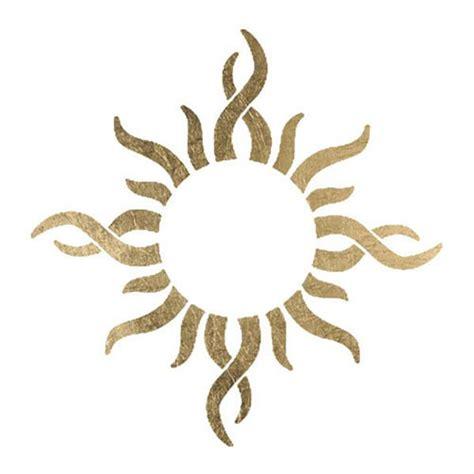fake tribal tattoo best 25 tribal sun ideas on sun mandala