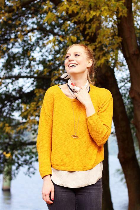 gelb kombinieren herbst look gelb kombinieren advance your style