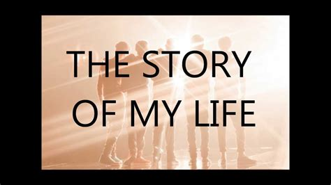 the story of my one direction story of my life con letra youtube
