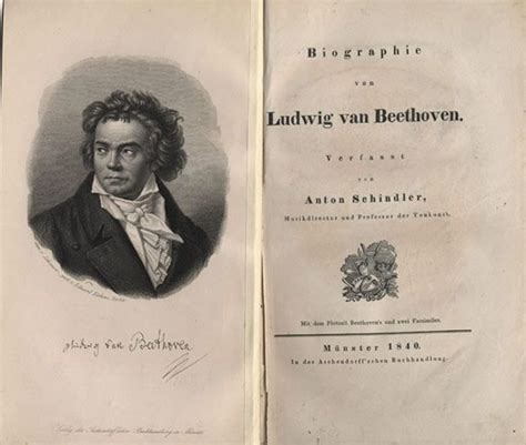 new biography of beethoven anton felix schindler biographie von ludwig van beethoven